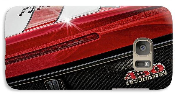 Galaxy Case featuring the photograph Ferrari 430 Scuderia by Brad Allen Fine Art
