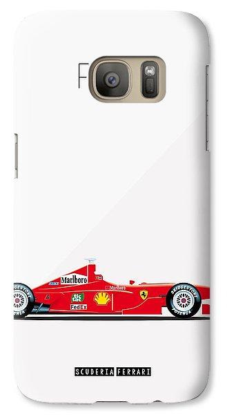 Ferrari F2001 F1 Poster Galaxy S7 Case