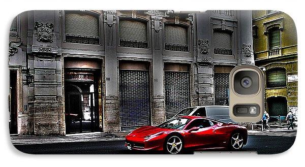 Ferrari In Rome Galaxy Case by Effezetaphoto Fz