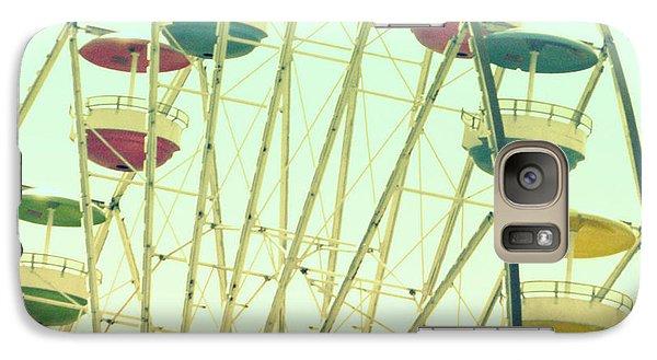 Galaxy Case featuring the digital art Ferris Wheel by Valerie Reeves