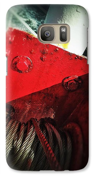 Galaxy Case featuring the photograph Ferry Hardware by Olivier Calas