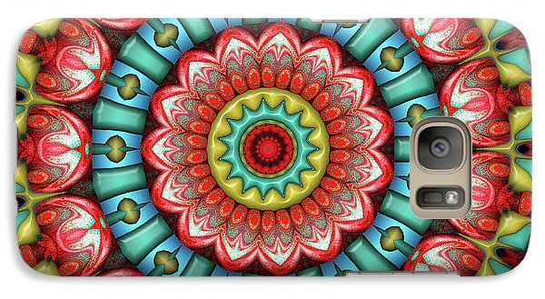 Galaxy Case featuring the digital art Festival 2 by Wendy J St Christopher