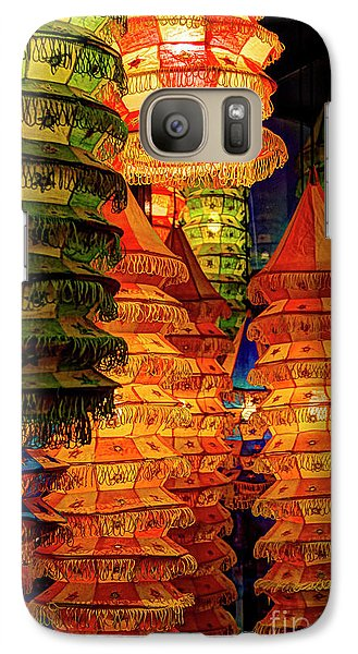 Galaxy Case featuring the photograph Festival Lanterns by Gary Holmes