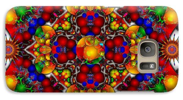 Galaxy Case featuring the digital art Festivities by Robert Orinski