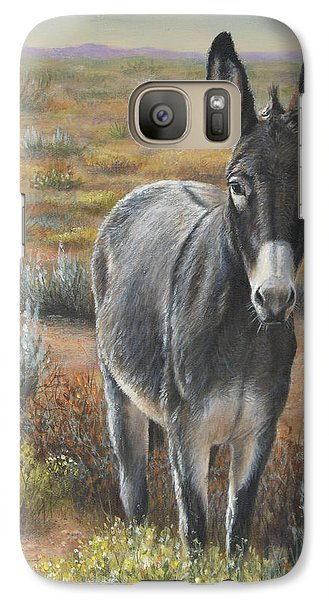 Galaxy Case featuring the painting Festus by Kim Lockman