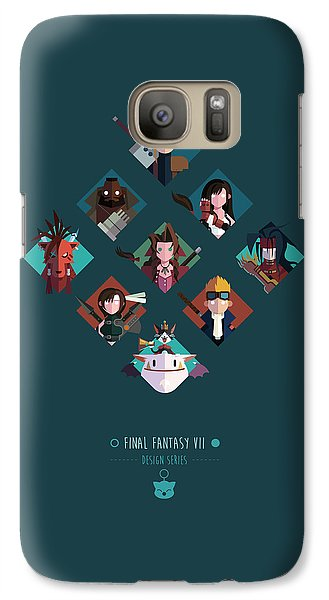 Galaxy Case featuring the digital art Ff Design Series by Michael Myers
