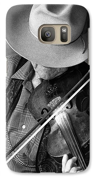 Galaxy Case featuring the photograph Fiddler #1 by Jim Mathis