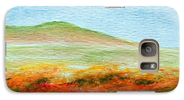 Galaxy Case featuring the painting Field Of Poppies by Jamie Frier