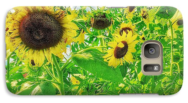Galaxy Case featuring the photograph Field Of The Suns  by Jame Hayes