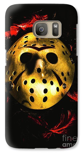 Hockey Galaxy S7 Case - Fields Of A Killers Wake by Jorgo Photography - Wall Art Gallery