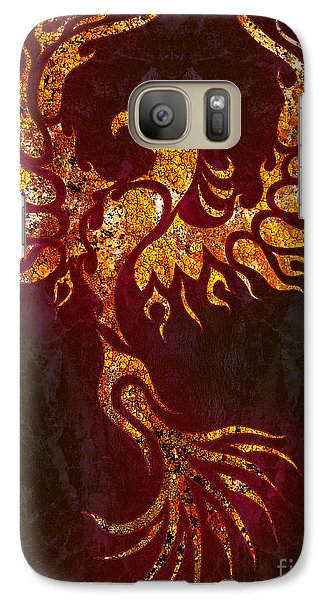 Fiery Phoenix Galaxy S7 Case