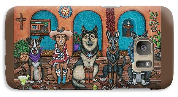 Fiesta Dogs Galaxy S7 Case