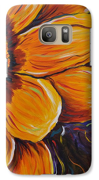 Galaxy Case featuring the painting Fiesta Of Courage by Lisa Fiedler Jaworski