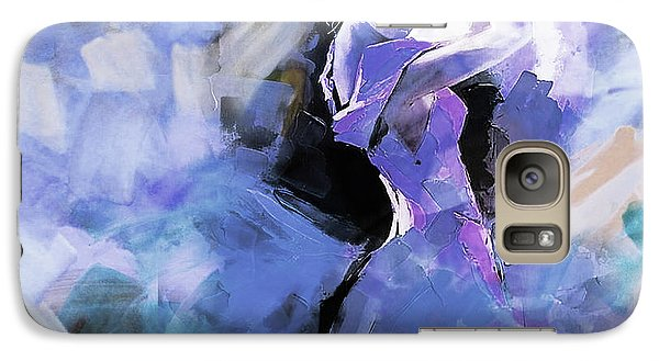 Galaxy Case featuring the painting Figurative Dance Art 509w by Gull G