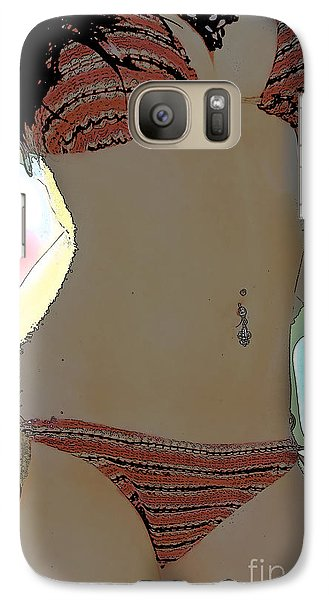 Galaxy Case featuring the photograph Figure This by Tbone Oliver