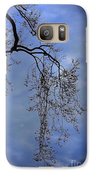 Galaxy Case featuring the photograph Filigree From On High by Skip Willits