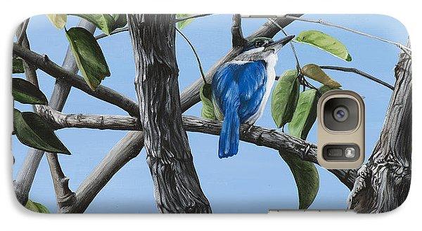 Kingfisher Galaxy S7 Case - Filipino Kingfisher by Wendy Ballentyne