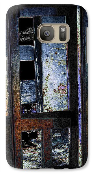 Galaxy Case featuring the digital art Final Days - Past Meets Present by Stuart Turnbull
