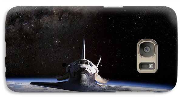 Space Ships Galaxy S7 Case - Final Frontier by Peter Chilelli