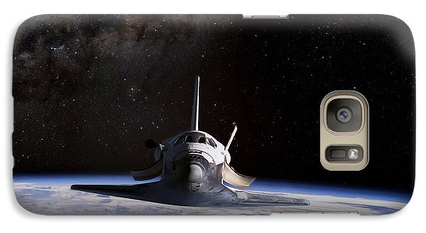 Final Frontier Galaxy S7 Case by Peter Chilelli