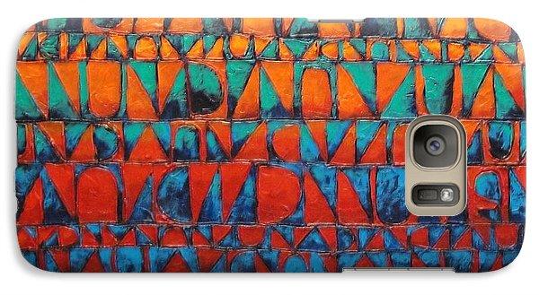 Galaxy Case featuring the painting Final Regatta by Bernard Goodman