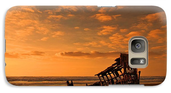 Galaxy Case featuring the photograph Final Resting Place by Dan Mihai