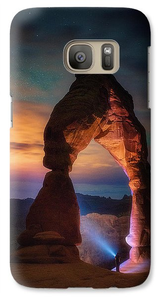 Galaxy Case featuring the photograph Finding Heaven by Darren White