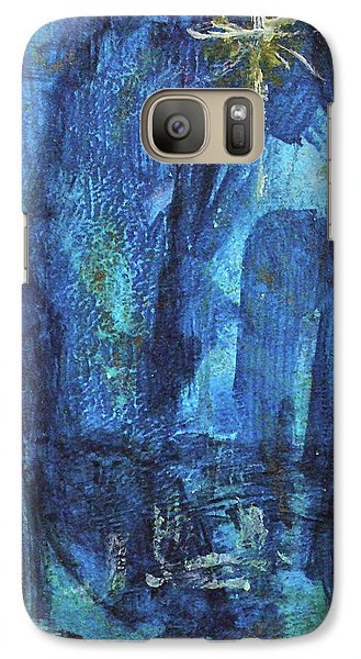 Galaxy Case featuring the painting Finding The Star by Mary Sullivan