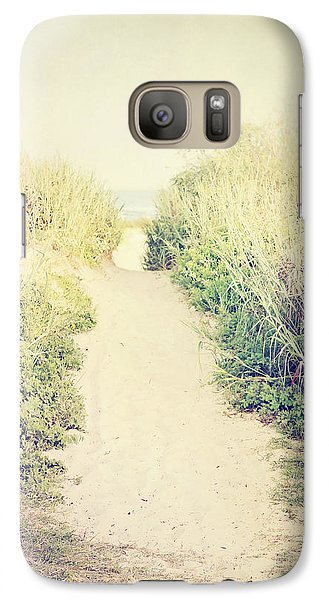 Galaxy Case featuring the photograph Finding Your Way by Trish Mistric