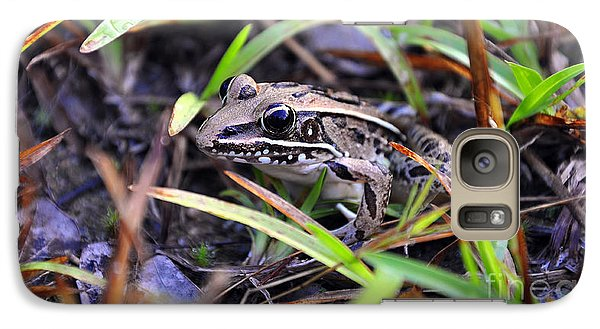 Galaxy Case featuring the photograph Fine Frog by Al Powell Photography USA