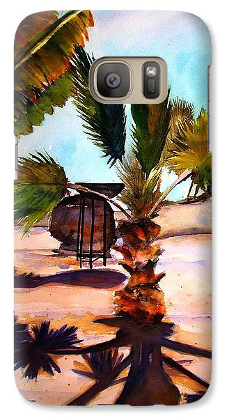 Galaxy Case featuring the painting Finesterra by Marti Green