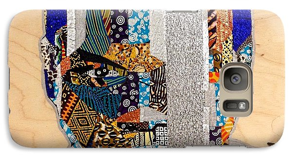 Galaxy Case featuring the tapestry - textile Finn Star Wars Awakens Afrofuturist  by Apanaki Temitayo M