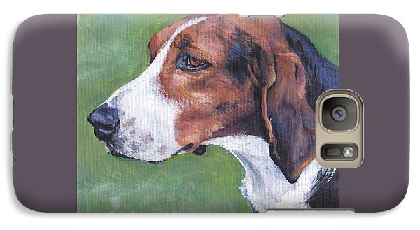 Galaxy Case featuring the painting Finnish Hound by Lee Ann Shepard