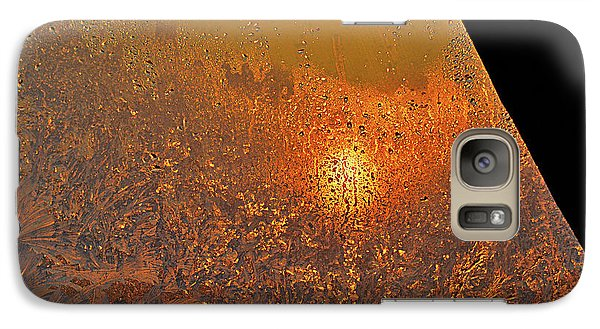 Galaxy Case featuring the photograph Fire And Ice by Susan Capuano