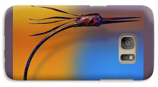 Galaxy Case featuring the photograph Fire Bird by Paul Wear