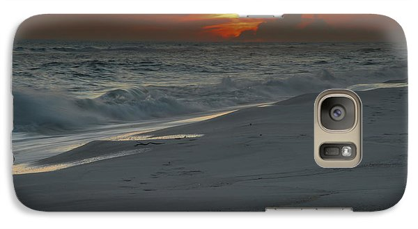 Galaxy Case featuring the photograph Fire In The Horizon by Renee Hardison