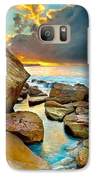 Fire In The Sky Galaxy S7 Case