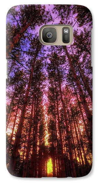 Galaxy Case featuring the photograph Fire Sky - Sunset At Retzer Nature Center - Waukesha Wisconsin by Jennifer Rondinelli Reilly - Fine Art Photography