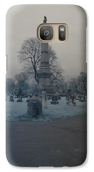 Galaxy Case featuring the photograph Firemens Grove by Joshua House