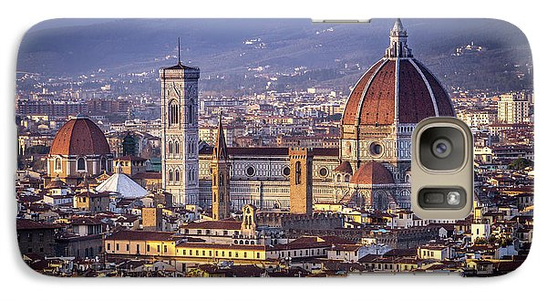 Galaxy Case featuring the photograph Firenze E Il Duomo by Sonny Marcyan