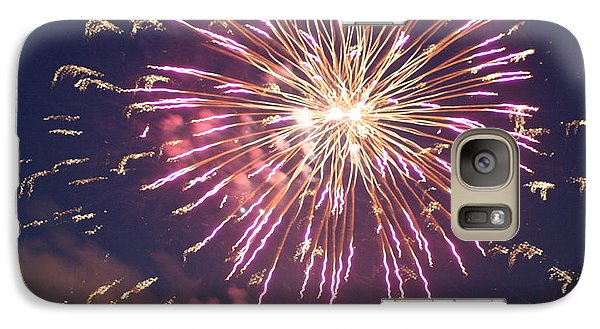 Galaxy Case featuring the digital art Fireworks In The Park 2 by Gary Baird