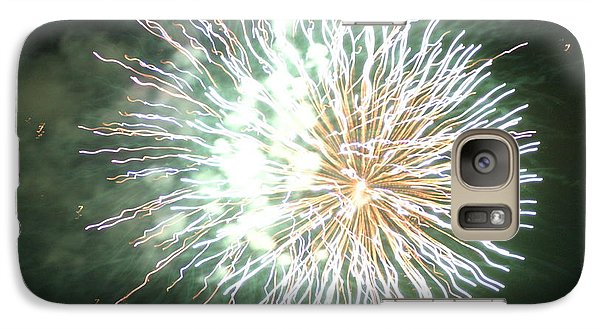 Galaxy Case featuring the digital art Fireworks In The Park 4 by Gary Baird