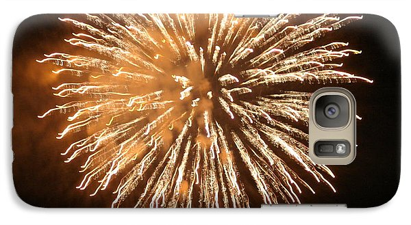 Galaxy Case featuring the digital art Fireworks In The Park 5 by Gary Baird