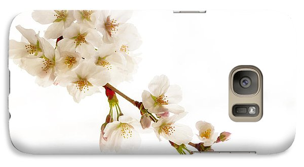 Galaxy Case featuring the photograph first blossoms on the Basin by Edward Kreis