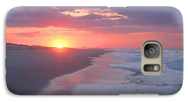 Galaxy Case featuring the photograph First Daylight by Newwwman