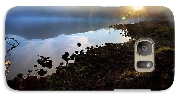 Galaxy Case featuring the photograph Daybreak by Cat Connor