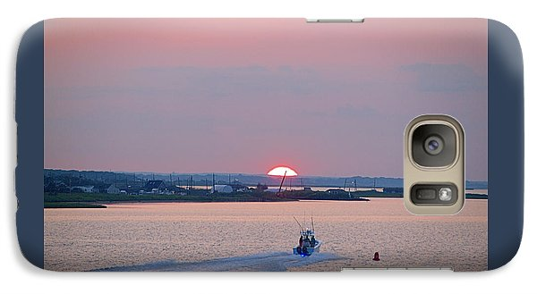 Galaxy Case featuring the photograph First Light by  Newwwman