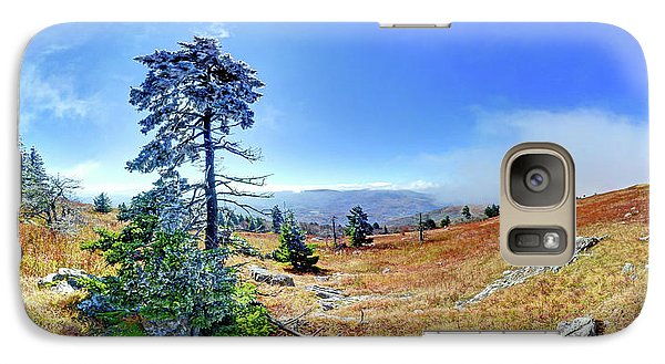 Galaxy Case featuring the photograph First Light Snow by George Randy Bass
