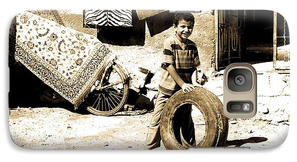 Galaxy Case featuring the photograph First Of My Tyre Empire by Jez C Self