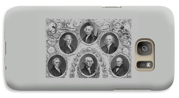 First Six U.s. Presidents Galaxy S7 Case by War Is Hell Store
